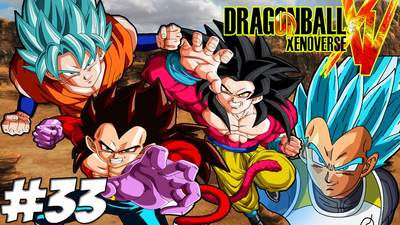 Dragonball xenoverse dlc pack 3 resurrection of f dlc all forms of goku and vegeta part 33 - Vegeta all forms ...
