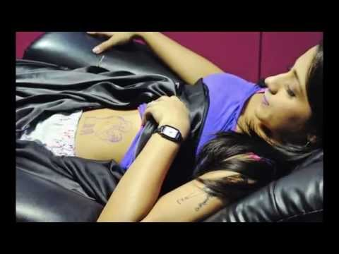 JAYAM RAVI'S TATTOO ON TRISHA THIGHS FOR MOVIE BOOLOGAM