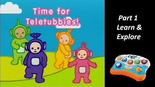 Teletubbies: Time for Teletubbies (V.Smile Baby) (Playthrough) Part 1 - Learn & Explore