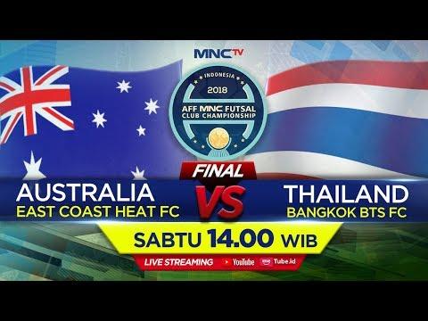 EAT COAST AUSTRALIA VS BANGKOK BTS FC THAILAND  FT : 17 AFF MNC FUTSAL CLUB CHAMPIONSHIP