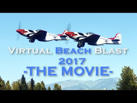 Thunderbirds 1946 - Virtual Beach Blast The Movie (1080p 60FPS)