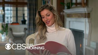 Note to Self: Gisele Bündchen reflects on self doubt and her road to stardom