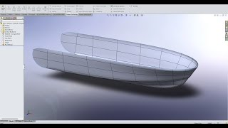 Hull Design in Solidworks | Power Surfacing Part 2