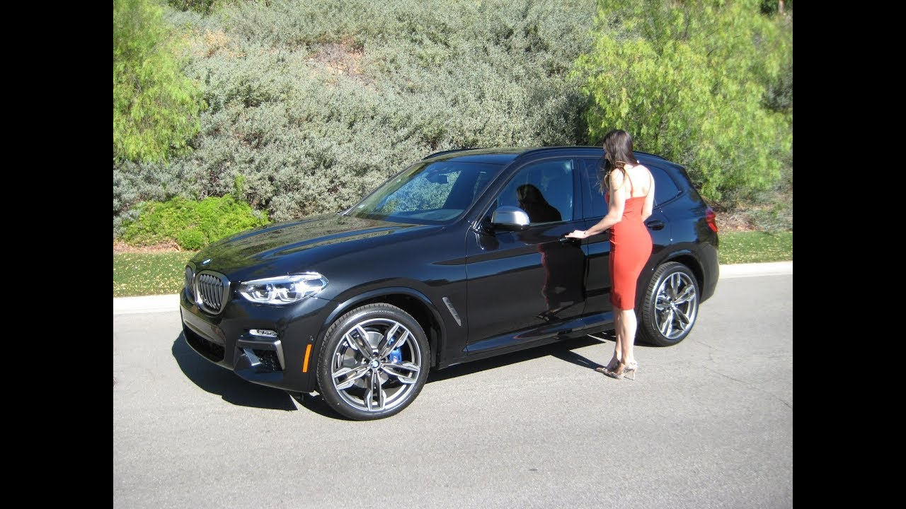 2018 BMW X3 M40i Next Generation Exhaust Sound 21 M Wheels Review