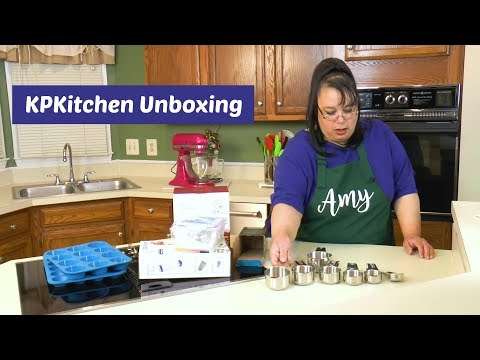 KP Kitchen Tools Unboxing ~ Russian Cake Decorating Tips, Batter Dispenser & Silicone Bakeware