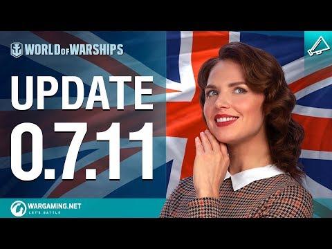 Dasha Presents Update 0.7.11 | World Of Warships