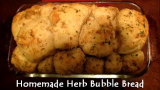 Homemade Herb Bubble Bread Recipe