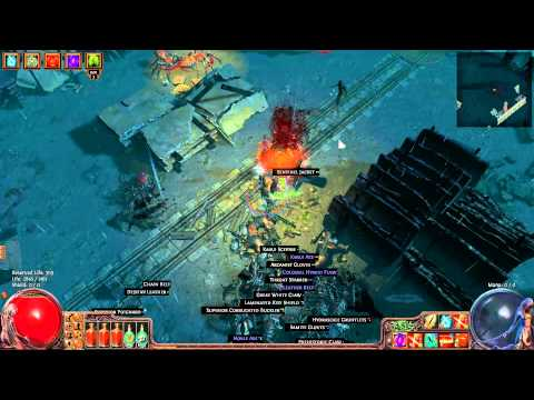 Path Of Exile - 77 Dicer Melee Ranger - Running Wharf Map
