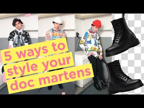 3 Ways To Style Your Doc Martens | How I Style Dr Martens | dapperalien