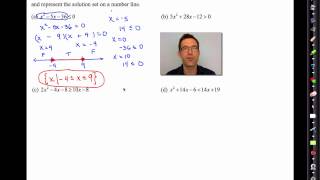 Common Core Algebra II.Unit 6.Lesson 7.Quadratic Inequalities of One Variable