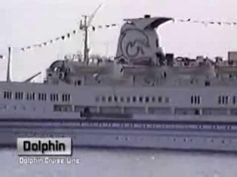 Classic Cruise Ships Miami 1991