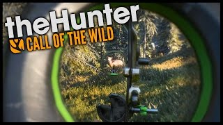The Hunter Call Of The Wild - BOW HUNTING! - Call Of The Wild Gameplay