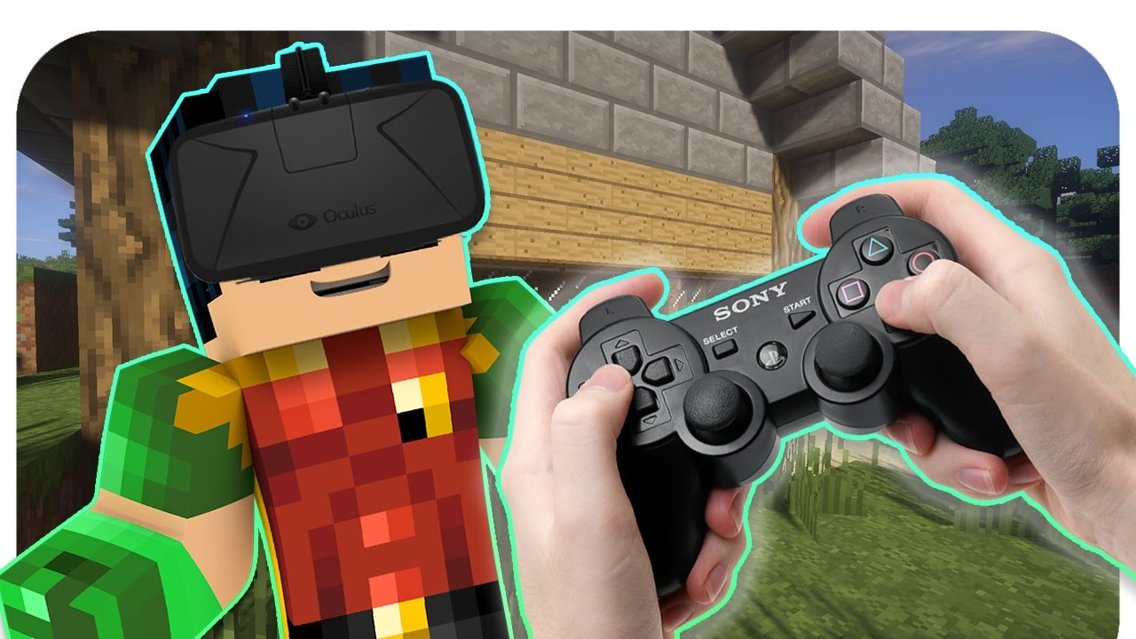 Realistic Minecraft: Xbox and PlayStation VR In Minecraft Real Life!