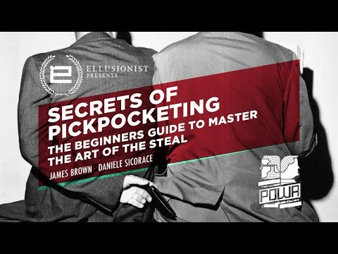 How to practice pickpocketing