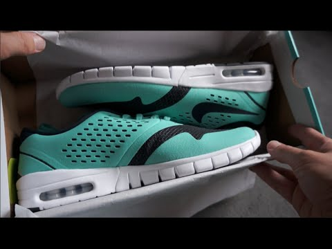 NIKE ERIC KOSTON 2 MAX - Crystal Mint Dark Obsidian - unboxing   on feet  review 1335e82d3b0e
