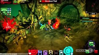 Grave Robbers: Akaneiro: Demon Hunters Gameplay (PC)
