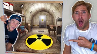 Secret Survival Bunker In Our New House!