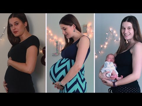 WATCH MY BELLY GROW! – My Pregnant Belly Progression