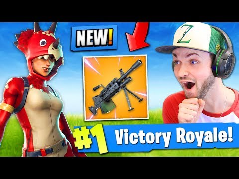 *NEW* LIGHT MACHINE GUN coming to Fortnite: Battle Royale! (