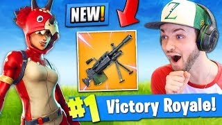 *NEW* LIGHT MACHINE GUN coming to Fortnite: Bat...