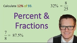 Percent and Fractions (Simplifying Math)
