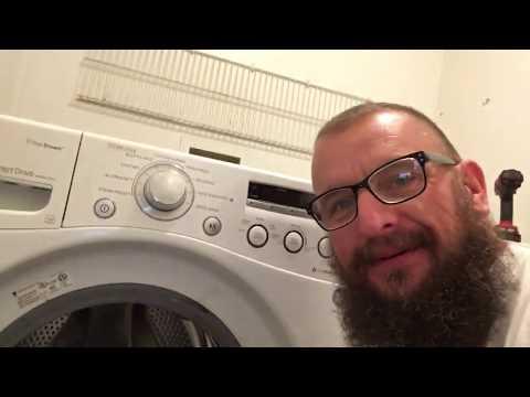LG Washing Machine bearing replacement (part one)