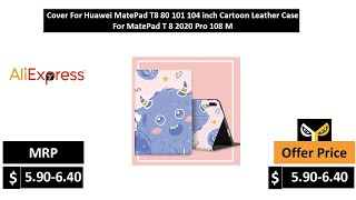 Cover For Huawei MatePad T8 80 101 104 inch Cartoon Leather Case For MatePad T 8 2020 Pro 108 M