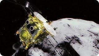 КосмоСториз: «ХАЯБУСА-2» УСПЕШНО СЕЛ НА АСТЕРОИД РЮГУ