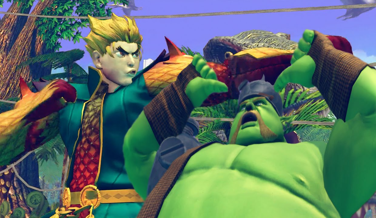 Street Fighter Halloween Costumes halloween costumes for street fighter and mortal kombat image 1 Dragon Man Ken Vs Goblin Rufus Ultra Street Fighter 4 Halloween Costumes