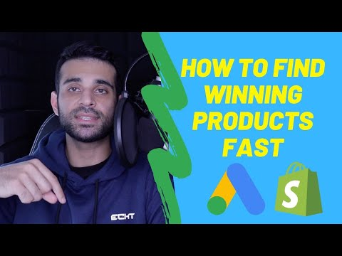 How To Find Winning Products FAST For Shopify Dropshipping Google Ads (Always Have Winners) thumbnail
