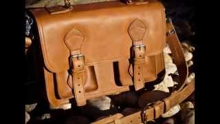 Leather Briefcase Bag for Men by Buffalo Jackson Trading Co