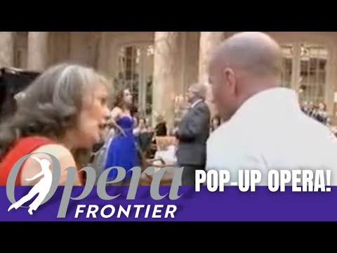 Opera Frontier Pop-up Opera at the Palace Hotel