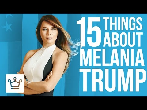 Thumbnail: 15 Things You Didn't Know About Melania Trump