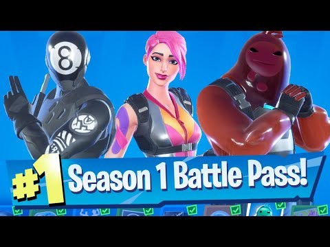 Fortnite Chapter 2 Season 1 (Season 11) - Full Battle Pass Tour