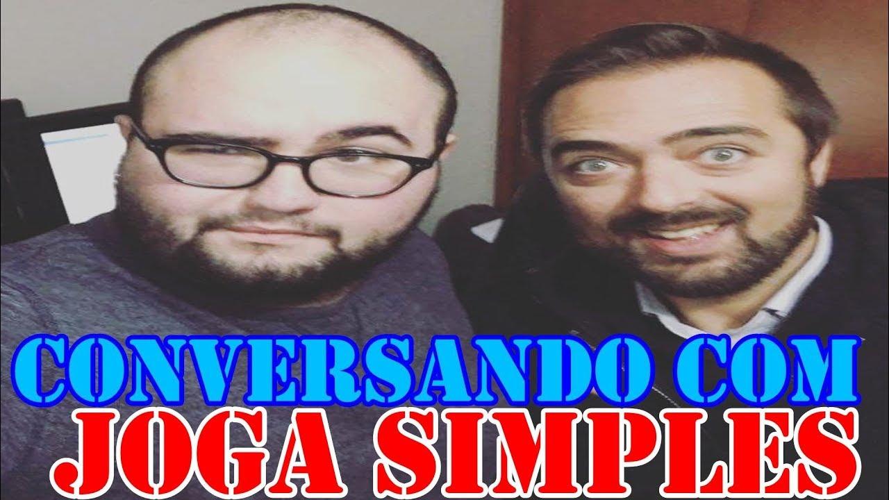#3 CONVERSANDO COM : JOGA SIMPLES |VERDADE SOBRE O YOUTUBE