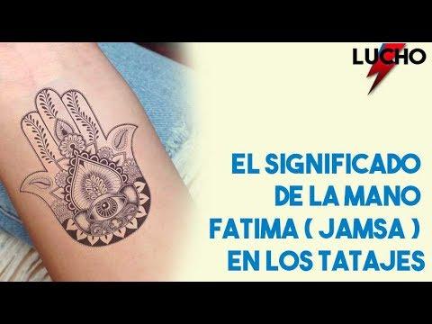 El Significado De La Mano De Fatima O Jamsa En Los Tatuajes Youtube