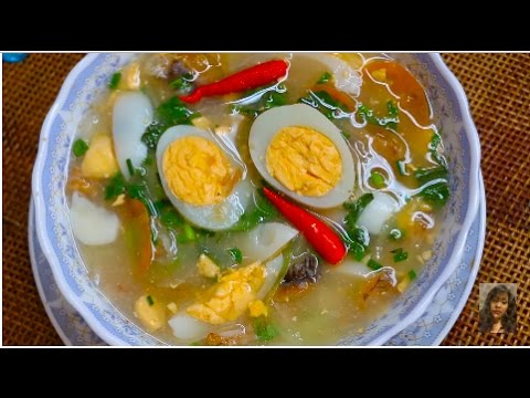 Cambodian popular food how to make sweet and sour dried for How to make fish soup