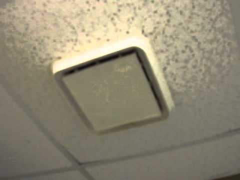 old 1980's broan bath fan! - youtube
