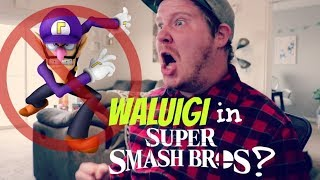 Waluigi in Smash Bros?
