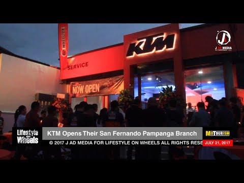 KTM Opens in San Fernando Pampanga News Update (July 21, 2017)
