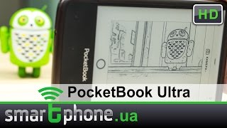 PocketBook Ultra - Обзор Электронной Книги с 5Мп камерой(Видеообзор PocketBook Ultra. Текстовый обзор: http://www.smartphone.ua/test_7006.html Электронная книга с 5Мп камерой, производительн..., 2014-09-25T13:46:11.000Z)