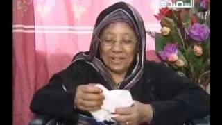الفنانة منى علي قبل وفاتها -مقابلة 