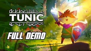 Tunic - Demo Full Gameplay Walkthrough - Xbox Series X, No Commentary