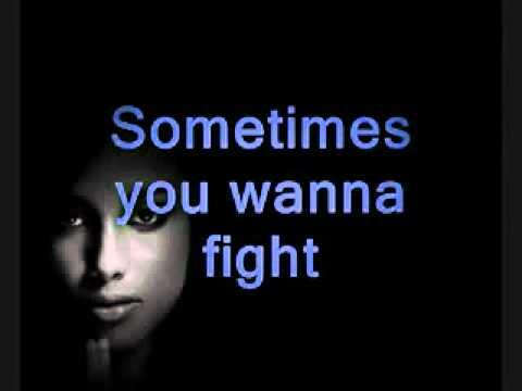 Alicia Keys - When You Really Love Someone (with Lyrics).avi