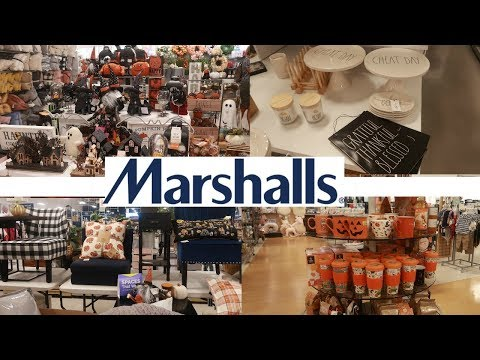 MARSHALLS  SHOPPING!!! FALL & HALLOWEEN DECOR * NEW FINDS