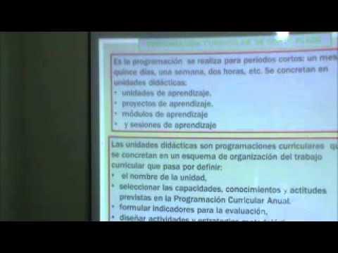 Dise o curricular nacional primaria sesi n iii youtube for Diseno curricular primaria