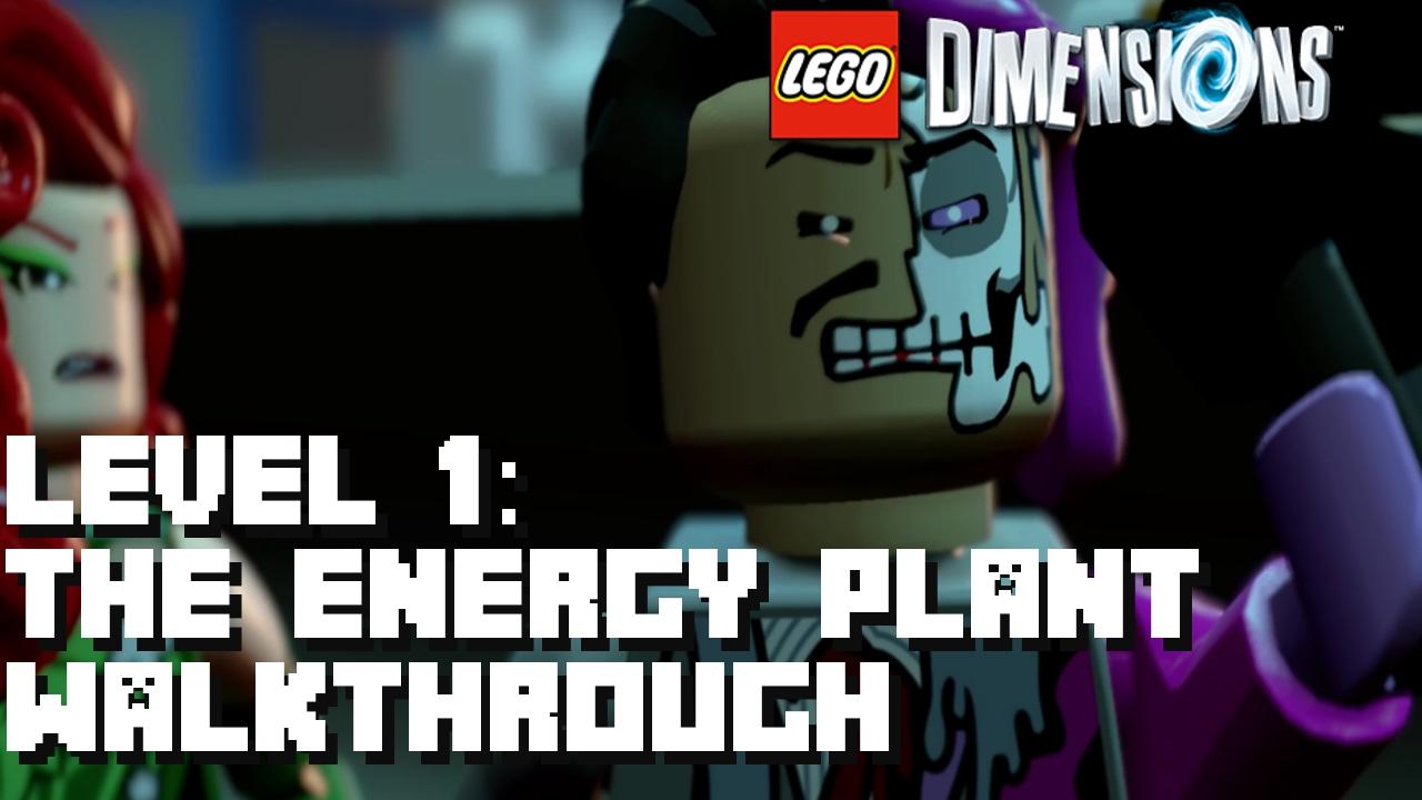 Lego Dimensions Lego Batman Movie Story Pack Level 1