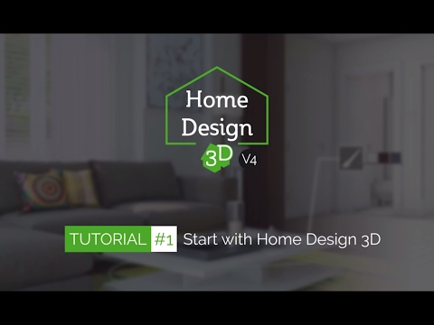 Home Design 3D - TUTO 1 - Start With Home Design 3D