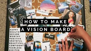 DIY: HOW TO MAKE A VISION BOARD
