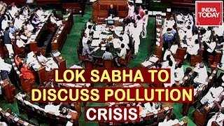 Lok Sabha To Discuss On Pollution Crisis; Environment Minister, Prakash Javadekar To Reply